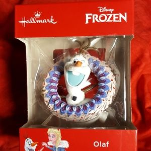 HALLMARK FROZEN Christmas ornament Olaf